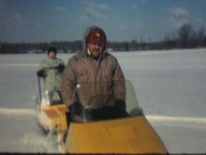 16mm FILM  HOME MOVIE  1970s Snowmobiling & Holiday Dinner  KODACHROME