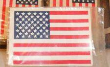Vtg 1 NOS 50s IMPKO American USA Window Glass Flag Hot Rod GM Ford Chevy Mopar