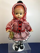 "13� Antique Tonner Effanbee Doll Co. ""Patsy� Repro Vinyl Adorable Sweater #T"