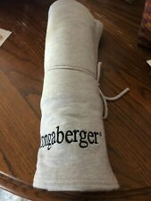 Longaberger Blanket in Gray