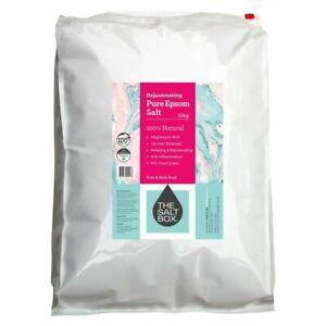 The Salt Box Natural Epsom Bath Salts 10kg - Bittersalz - Food Grade