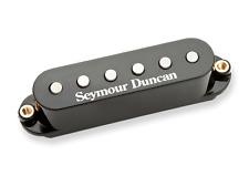 Nuevo Seymour Duncan stk-s7 Vintage Caliente Apilados Plus Strat PASTILLA Negro