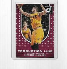 2014-2015 PANINI DONRUSS BASKETBALL PRODUCTION LINE KEVIN LOVE #3