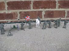 Civil War Confederate Infantry Artillery Set 1/32 54MM Toy Soldiers Gettysburg