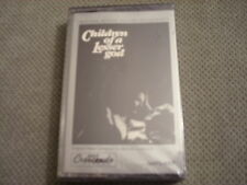 SEALED RARE OOP Children Of A Lesser God CASSETTE TAPE soundtrack 1986 score GNP