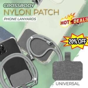 Universal Umhängeband Nylon Patch Phone Lanyards Handy Strap Lanyard