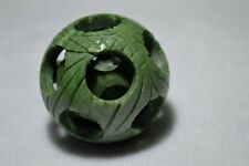 ball Handball Divine 100% hand carved natural jade multilayer rotatable