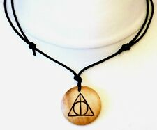 Deathly Hallows Collar Regalo de Harry Potter Para Hombres Damas Colgante Símbolo Joyería