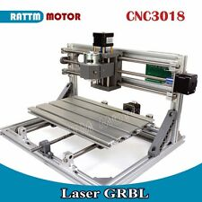 NEW! 3 Axis 3018 GRBL Control DIY CNC Laser Machine Pcb Pvc Milling Wood Router