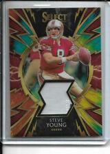 2019 Panini Select Steve Young Sparks Tie Dye PRIZM Jersey /25