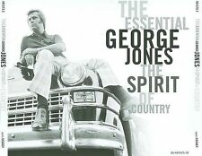 The Essential George Jones: The Spirit of Country by George Jones (CD, Nov-1998, 2 Discs, Sony Music Distribution (USA))