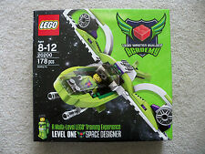 Lego - Mba Master Builder Academy - 20200 Lev One - Space Designer - New Sealed