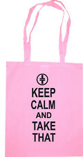 Take That Keep calm and carry on tour shopping rose Sac Anniversaire Cadeau Présent