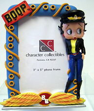 "New Betty Boop in Biker Dress 3.5"" x 5"" Retired Photo Frame Picture Frames"