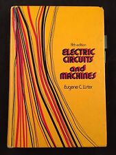 FIFTH EDITION-ELECTRIC CIRCUITS AND MACHINES- EUGENE C. LISTER