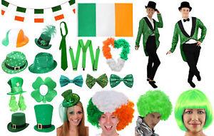 ST PATRICKS DAY COSTUME ACCESSORIES IRELAND PADDYS IRISH PARTY FANCY DRESS LOT
