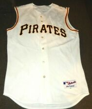 PITTSBURGH PIRATES AUTHENTIC MAJESTIC MLB BASEBALL BATTING SEWN JERSEY 44 medium
