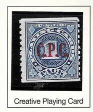 HICK GIRL-BEAUTIFUL MINT U.S. REVENUE STAMP  1940 PLAYING CARD C.P.C.  CO.    B