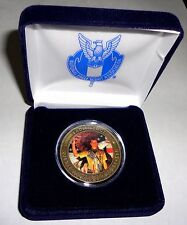 NESA Eagle Scout Court of Honor Norman Rockwell Bronze Coin & Case 2013 Jamboree