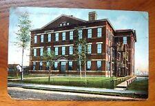 Sackett School Cleveland Ohio Antique Postcard - Used