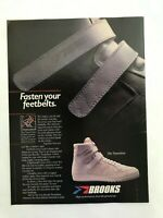 Brooks The Transition Shoes Vintage 1983 Print Ad