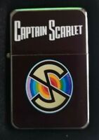 CAPTAIN SCARLET FLIP METAL PETROL LIGHTER