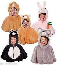 Löwe Bär Hase Katze Maus Kostüm Overall Cape Kinder Mädchen Junge Kleinkinder