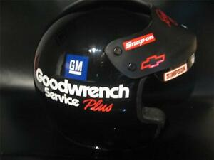 1998 DALE EARNHARDT SR 3 NASCAR GOODWRENCH HELMET REPLICA 1:1 DECALS STICKERS