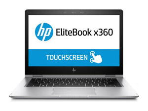 "SLIM LAPTOP HP EliteBook x360 1030 G2 i5 7th Gen 13.3"" 8GB RAM,512 SSD Win10"