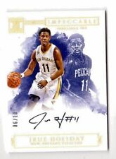 JRUE HOLIDAY NBA 2016-17 IMPECCABLE INDELIBLE INK HOLO GOLD #/10 (PELICANS)