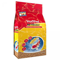 TETRA POND KOI VIBRANCE COLOR ENHANCING PREMIUM FISH FOOD 5.18 LBS. 16486