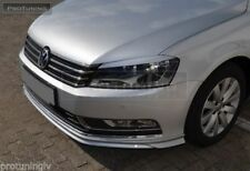 For VW Passat B7 3C 10-14 Front Bumper spoiler R line lip Valance Chin Skirt R36