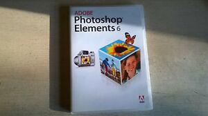 ADOBE PHOTOSHOP ELEMENTS 6 - PC PHOTO EDITING SOFTWARE - FAST POST - COMPLETE
