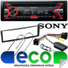 Renault Megane 2005-09 SONY Bluetooth CD MP3 USB Car Stereo & Steering Wheel Kit
