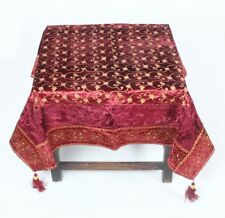 Indian Table Runner Dinner Kitchen Coffee Table Cover Tapestry #NTC-74