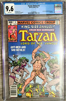 Tarzan Lord of the Jungle Annual #3 CGC 9.6 Marvel Comics 1979