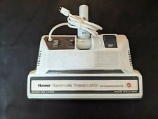 Vintage Hoover Quadraflex Powermatic Power Brush Vacuum Head White Working
