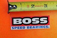 BOSS Rollerblade Speed Bearings Skates Blades Vintage INLINE Skating STICKER
