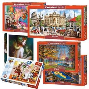 Damaged Box Trefl Castorland Clementoni Jigsaw Puzzle Landscape 30-6000 Piece