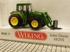 1/160 Wiking N-Spur John Deere 6820S mit Frontgabel 0958 37