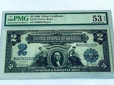 1899 $2 Silver Certificate - PMG 53EPQ About Uncirculated - Fr. 255