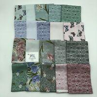 Totally Tulips (20) Fat Quarters 100% Cotton Quality quilting Fabric Benartex
