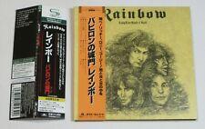 Rainbow Long Live Rock'N'Roll JAPAN SHM CD MINI LP