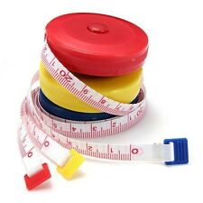 UK Ruler Tape Measure Retractable Sewing Cloth Dieting Tailor 1.5M