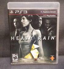 Heavy Rain (Sony PlayStation 3, 2010) Ps3 Video Game