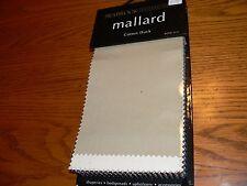 "Seabrook ""Mallard"" Cotton Duck Upholstery Sample Swatch Fabric Book #3121"