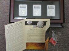 2015 PRIVATE ISSUE NGC SLABBED PROOF LIKE CARSON CITY COLLECTION 1886/87/88