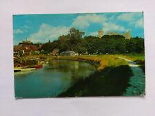 Arundel Vintage colour Postcard 1982 Castle & River Arun