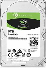 "5TB Seagate Barracuda ST5000LM000 2.5"" SATA III laptop Hard Drive HDD 15mm Thick"
