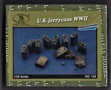 ROYAL MODEL 155 - U.S. JERRYCANS WWII - 1/35 RESIN KIT